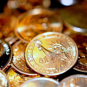 Звук падающей монеты