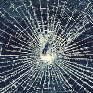 Звук разбитие стекла