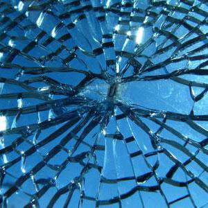 Звук разбитое стекло